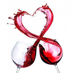 יין אדום בריא