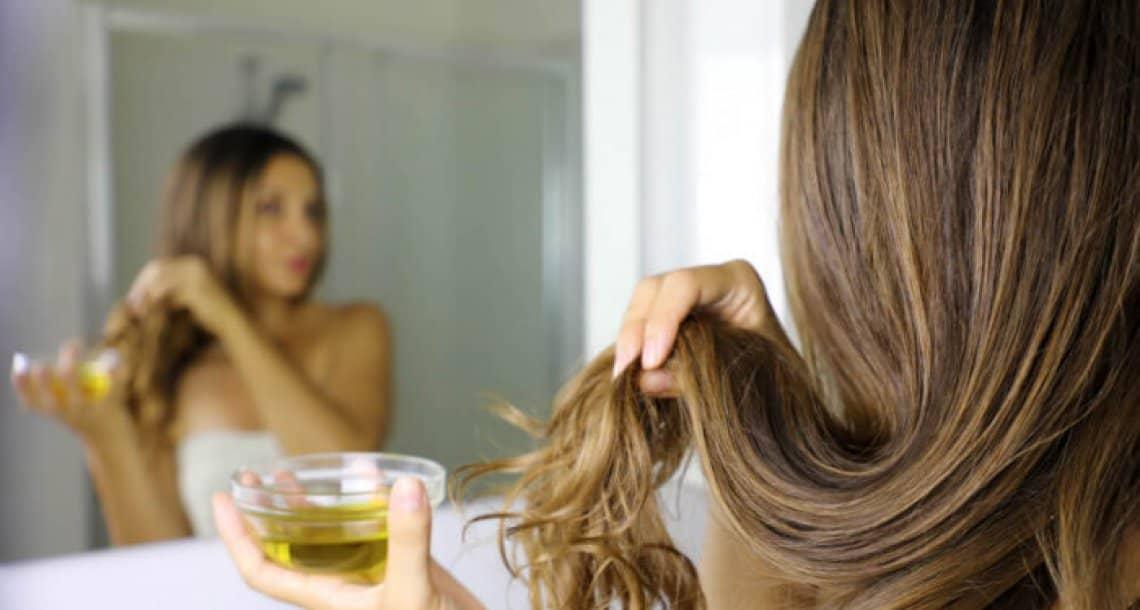 חיזוק וטיפוח השיער עם שמן זית לשיער